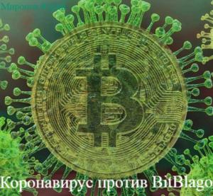 Коронавирус против BitBlago
