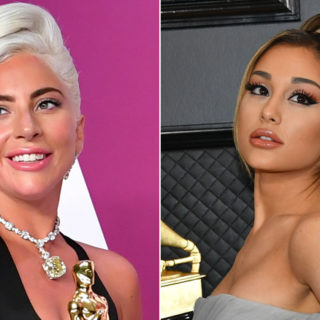 Ариана Гранде и Леди Гага